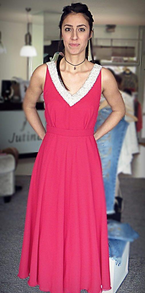Vestido de dama de onor da Jutina atelier