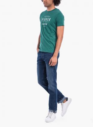 Frente das Jeans Brody regular de homem da Tiffosi
