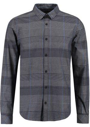 Camisa listrada cinza para homem da Garcia Jeans