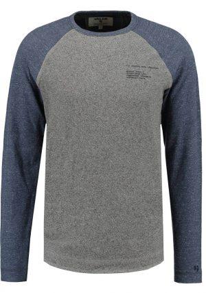 sweatshirt bicolor da Garcia Jeans em azul e cinza para homem