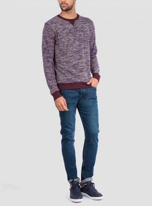 Frente de sweatshirt mesclada da Tiffosi para Homem