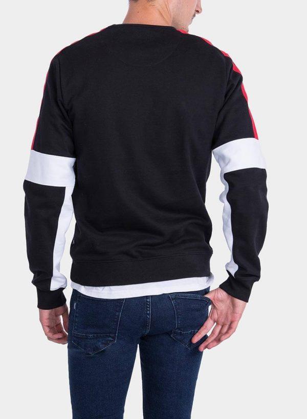 CosSweatshirt tricolor da Tiffosi para homem