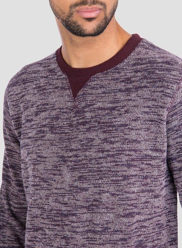 Pormenor da frente ds sweatshirt mesclada da Tiffosi para Homem