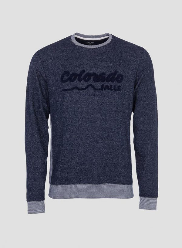 Sweatshirt texto relevo Tiffosi para Homem