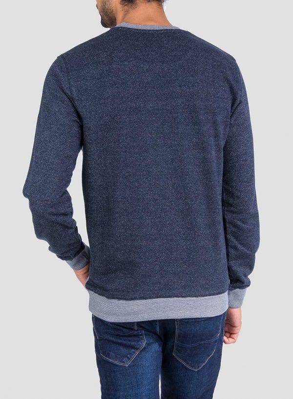 Costas de sweatshirt texto relevo Tiffosi para Homem