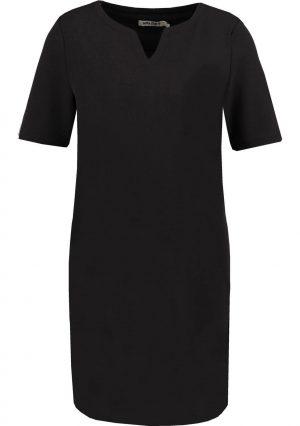 Vestido de malha preta com bolsos da Garcia Jeans