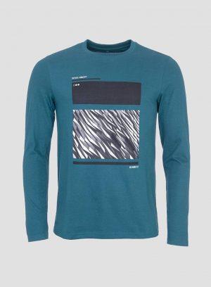 T-shirt com estampado geométrico para homem da Tiffosi