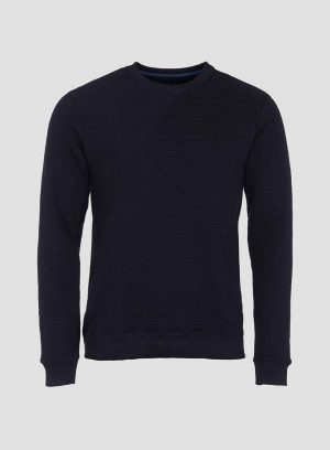 Sweatshirt textura para homem da Tiffosi