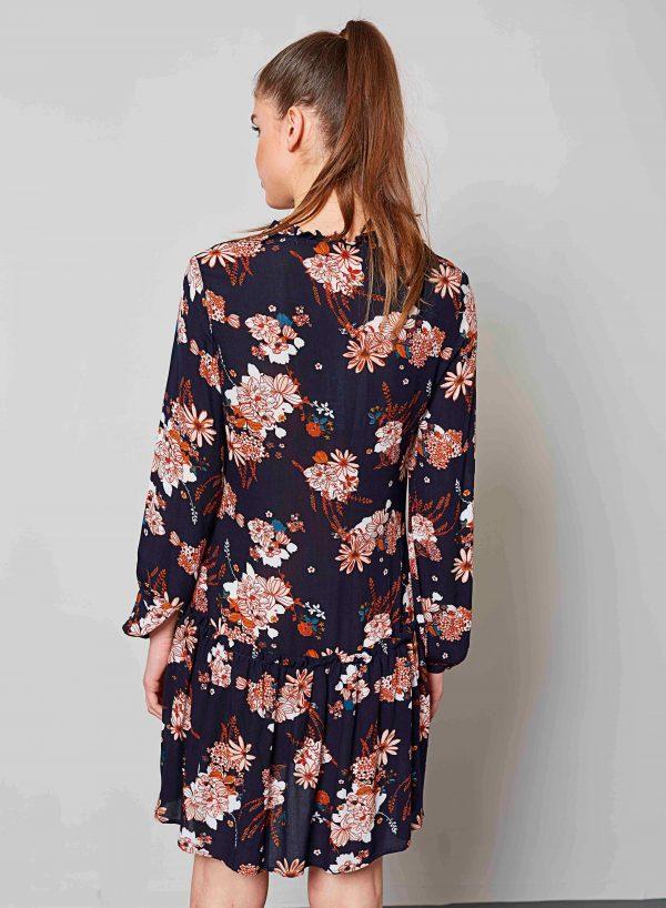Vestido decote redondo com cordão da Md`m