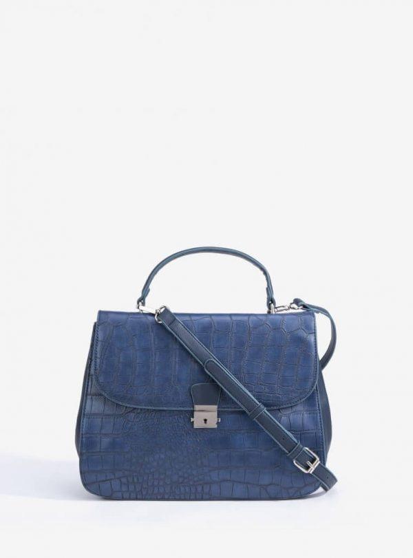 City Bag Gravada em azul marino para mulher da Vilanova