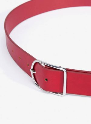 Cinto básico vermelho da Vilanova