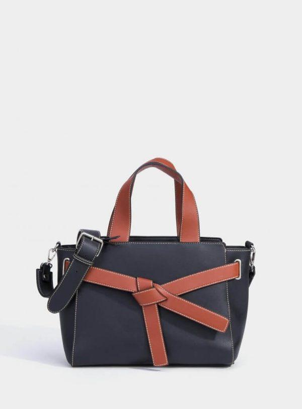 City bag bicolor para mulher da Vilanova