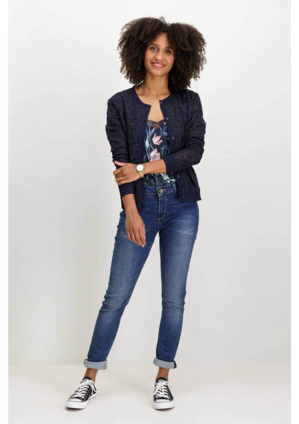 Calças de ganga super slim para mulher da Garcia Jeans