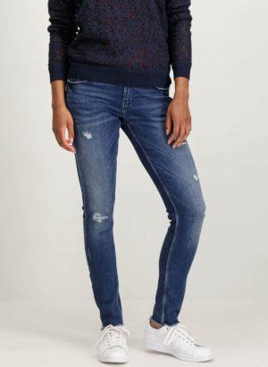 Calças de ganga com rotos para mulher da Garcia Jeans