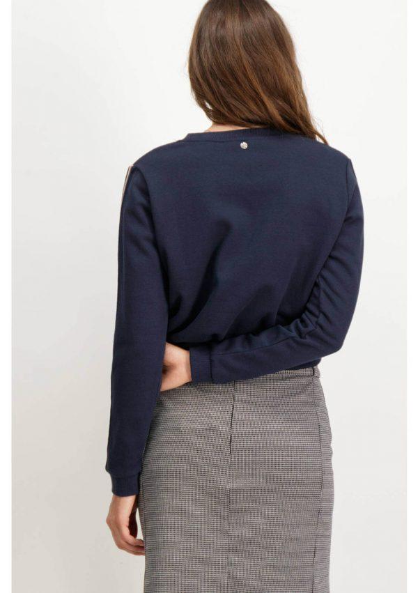 Camisola estrela bordada para mulher da Garcia Jeans