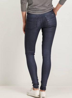 Calças azul escuro com brilho para mulher da Garcia Jeans