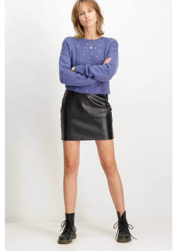 Camisola com pérolas da Garcia Jeans para mulher