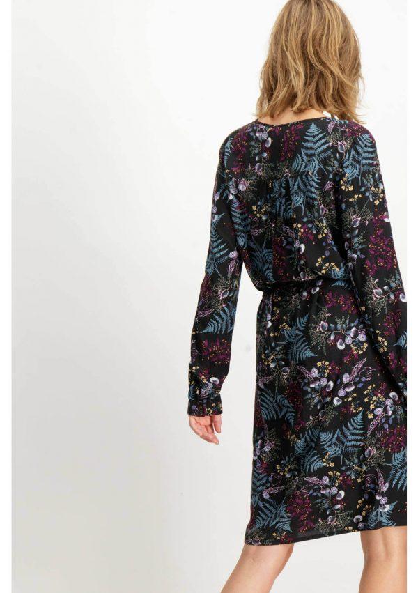 Vestido manga comprida com print floral da Garcia Jeans para mulher