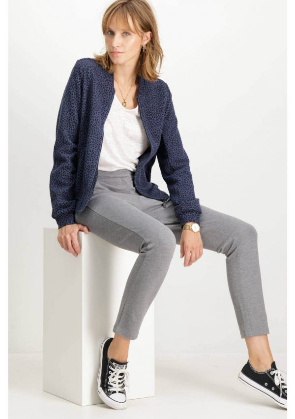 Bomber impresso com fecho da Garcia Jeans para mulher