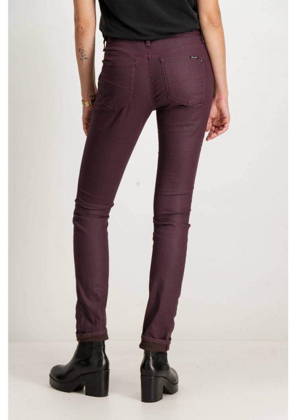 Calças de sarja com fechos da Garcia Jeans para mulher