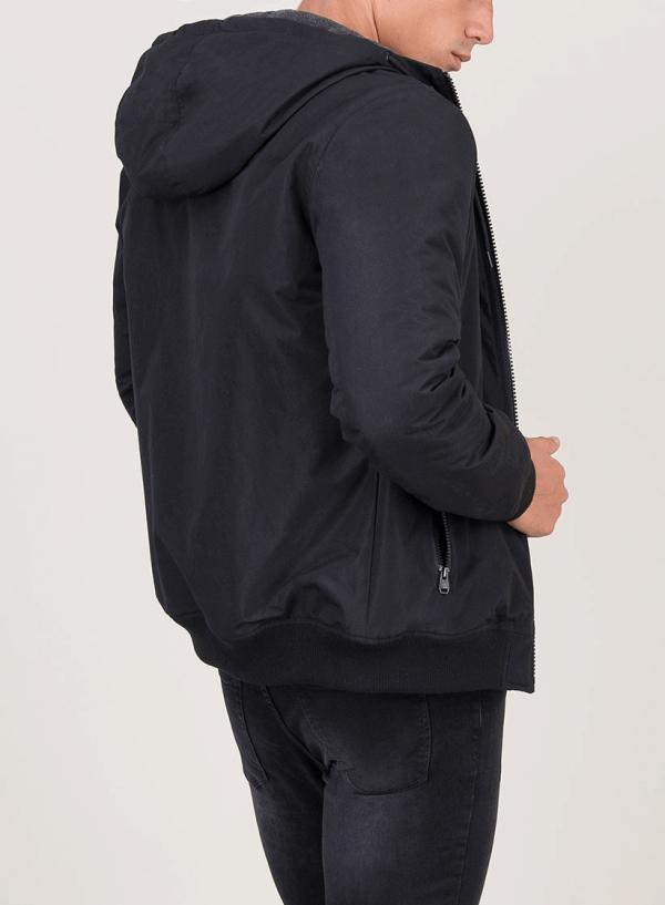 Blusão impermeável com capuz para homem da Tiffosi