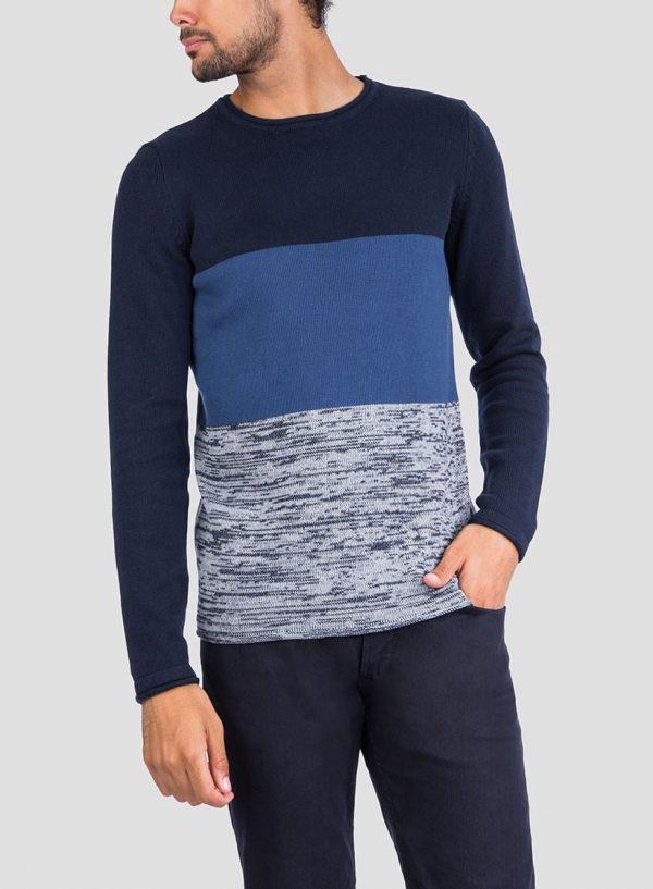 Frente da camisola combinada para homem da Tiffosi
