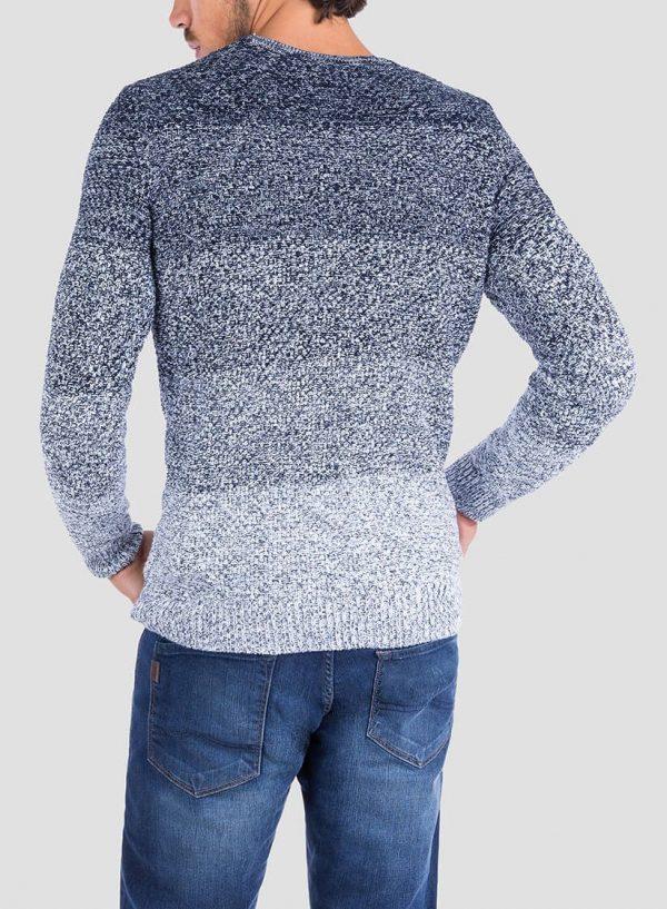 Costas da camisola mesclada com bolso para homem da Tiffosi