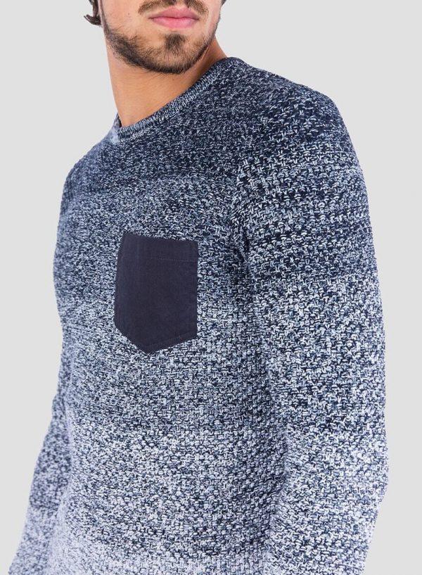 Lateral da camisola mesclada com bolso para homem da Tiffosi