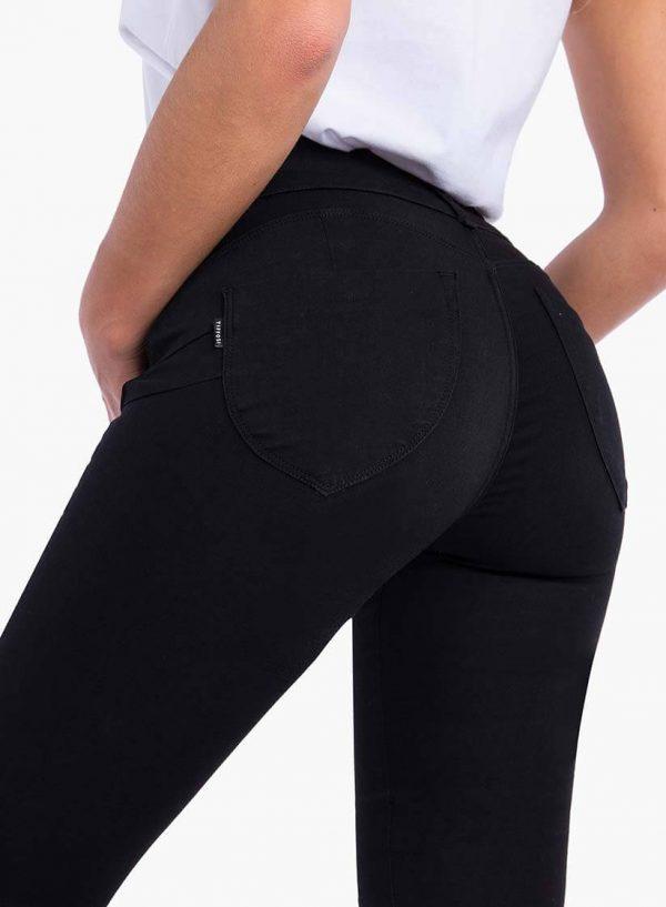 Calça one size double up preta para mulher da Tiffosi
