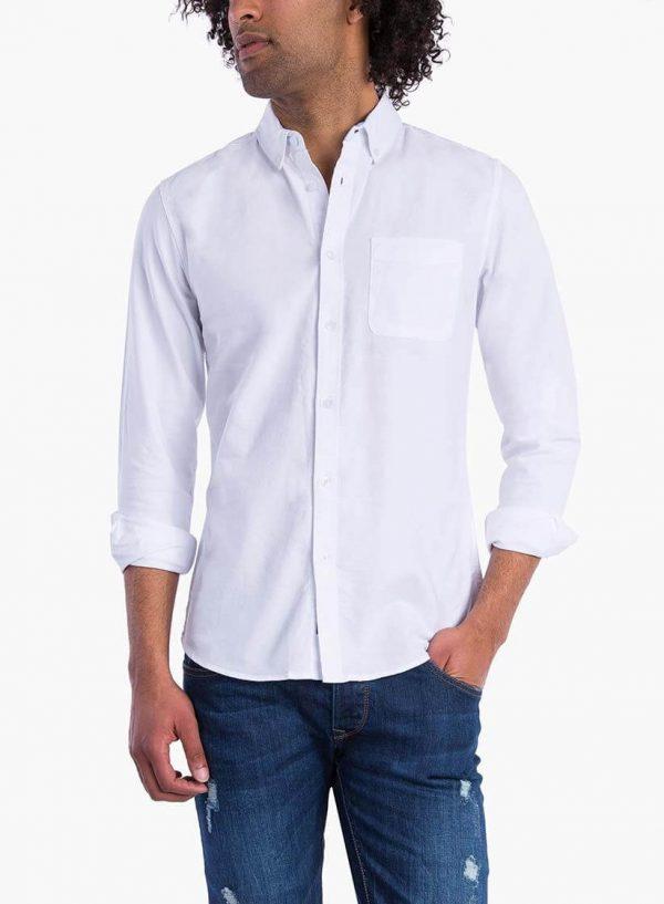 Camisa básica branca para homem da Tiffosi