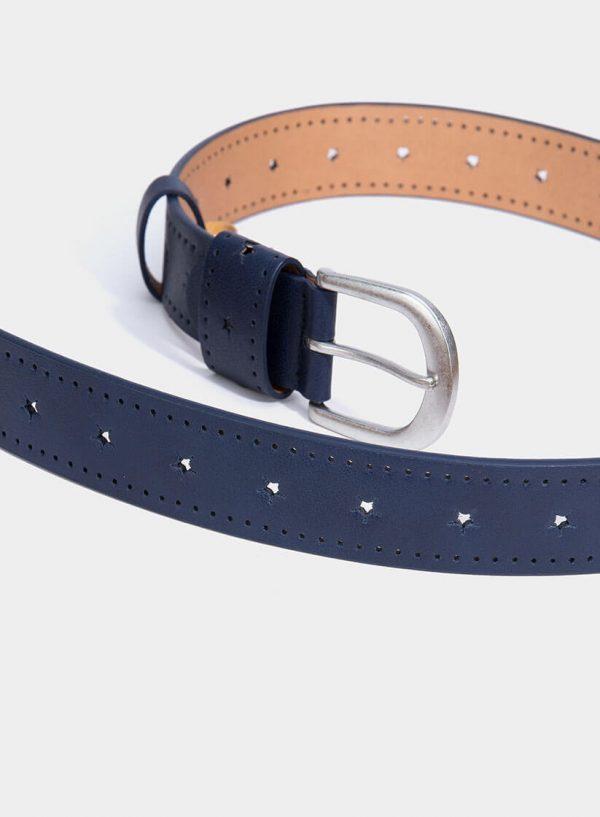 Cinto azul com estrelas perfuradas para mulher da Tiffosi