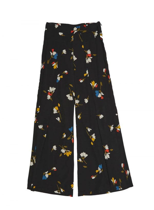 Pantalonas com pregas para mulher da Md`m