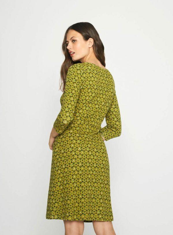 Vestido verde de manga comprida da Surkana