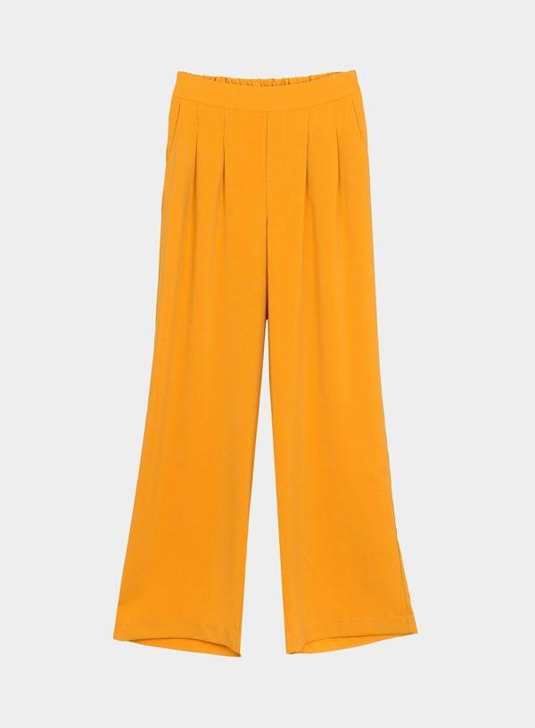 Calças largas em amarelo para mulher da Tiffosi