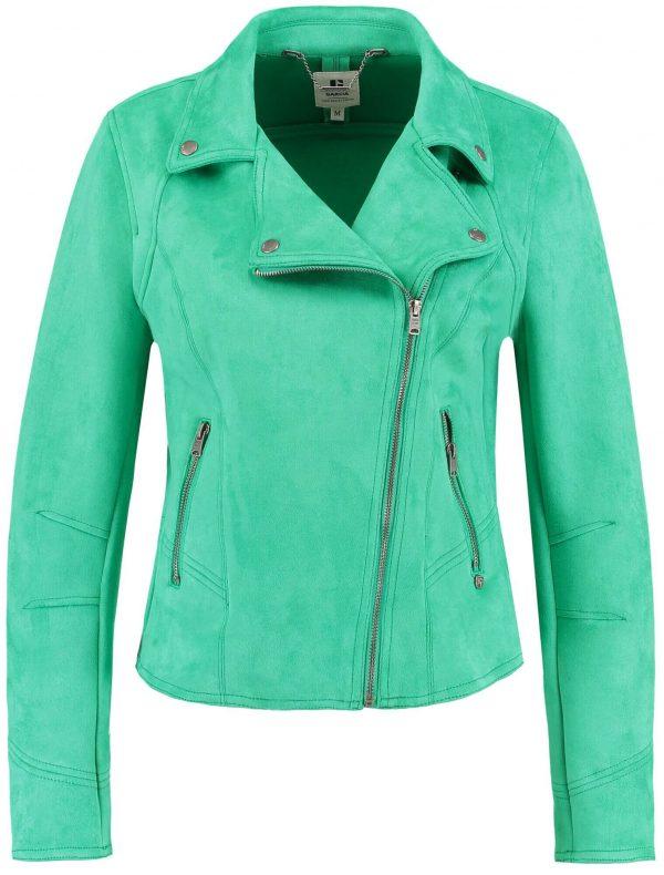 Blusão verde traçado para mulher da Garcia Jeans