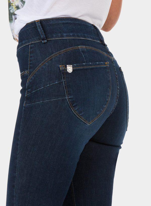 Calça de ganga one size double-up skinny para mulher da Tiffosi
