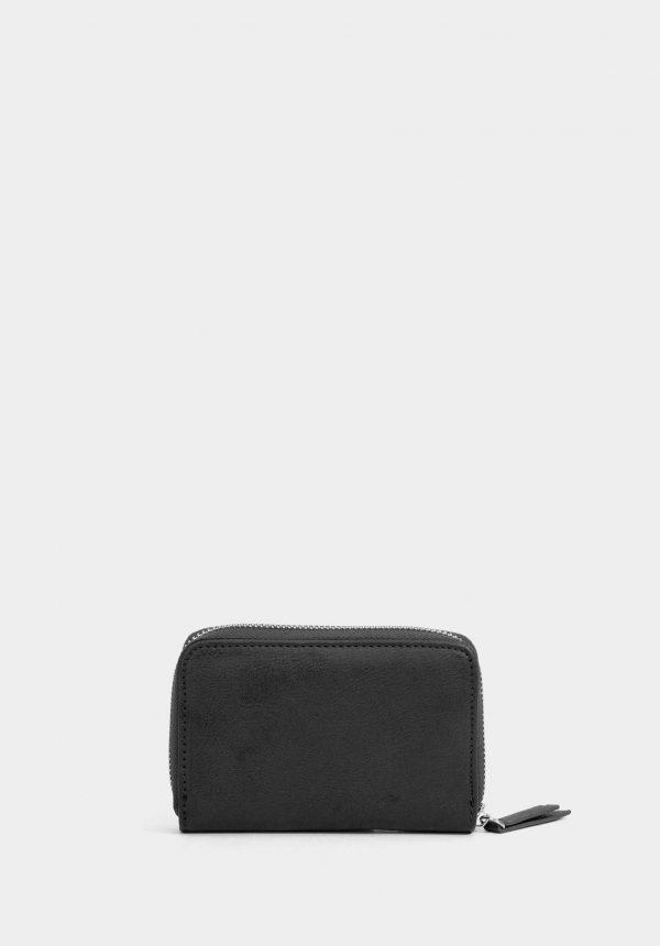 Porta moedas preto para mulher da Tiffosi