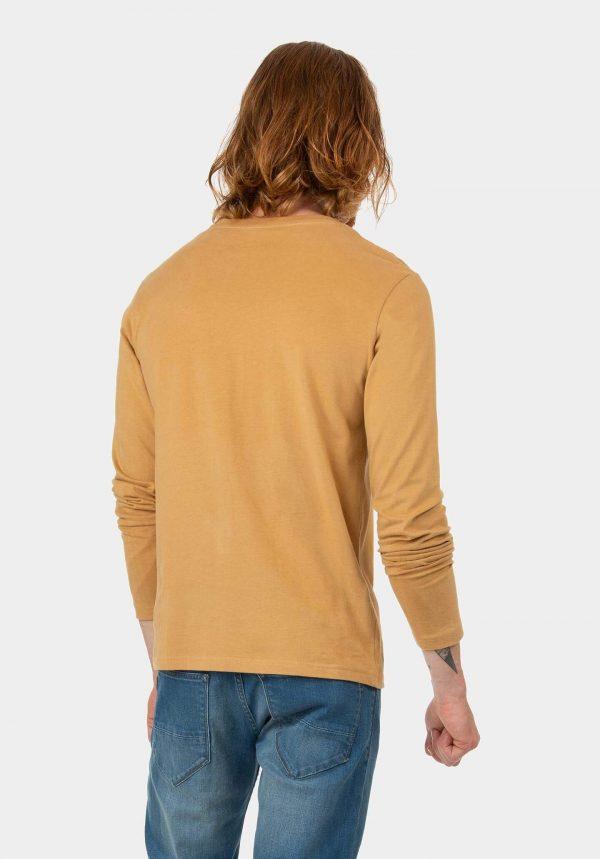 Sweatshirt camel para homem da Tiffosi