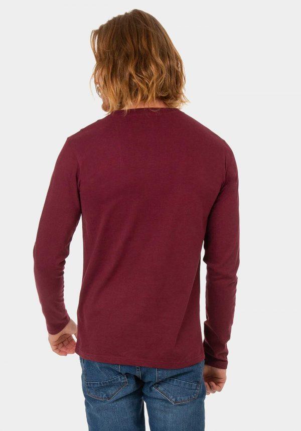 Sweatshirt bordô para homem da Tiffosi