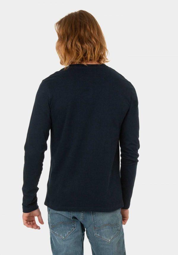 Sweatshirt azul marino escuro para homem da Tiffosi