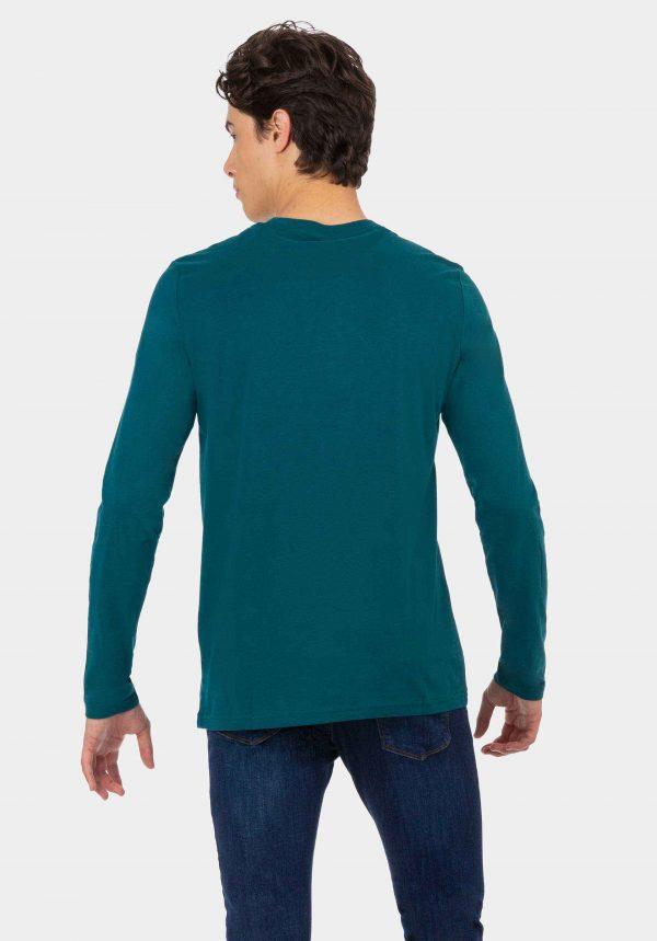 Sweatshirt verde para homem da Tiffosi