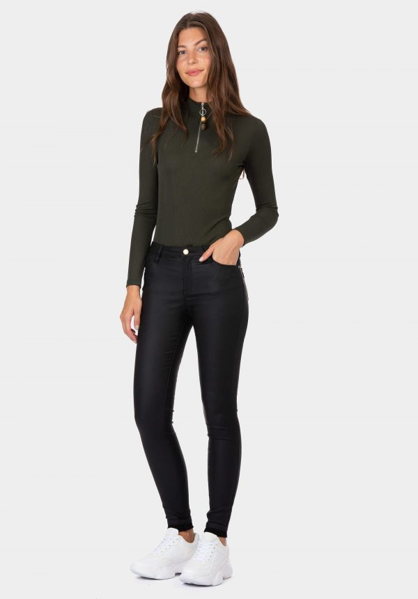 Calça preta para mulher da Tiffosi