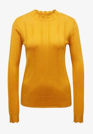 Camisola amarela com meia gola para mulher da Tom Tailor