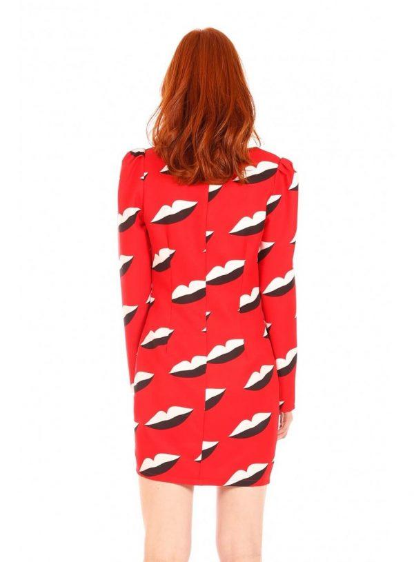 Vestido red lips da Minueto