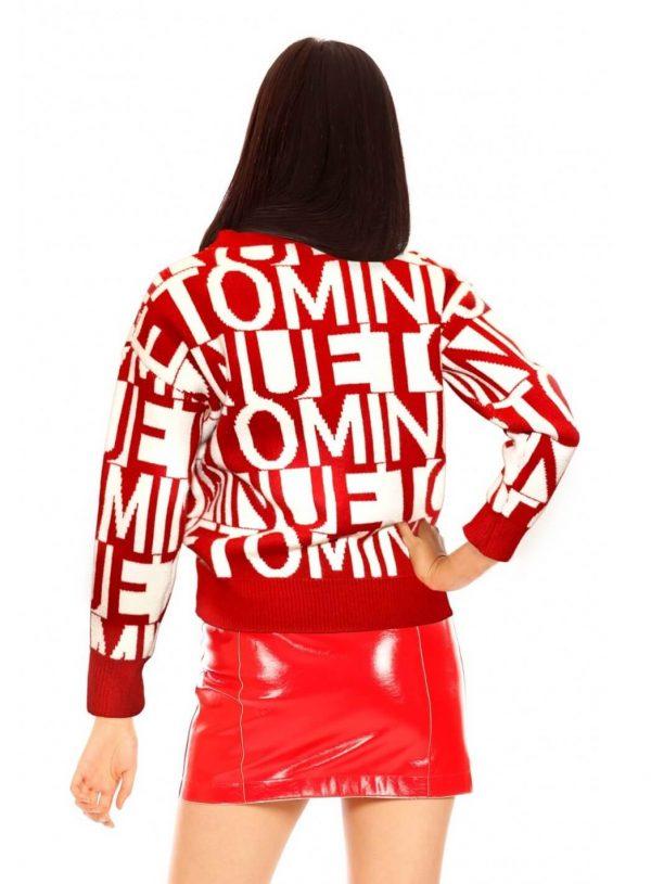 Minueto sweater em vermelho para mulher da Minueto