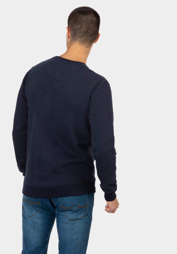 Sweat azul com carda para homem da Tiffosi