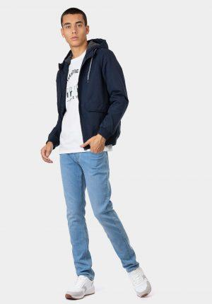 Blusão azul com duplo bolso para homem da Tiffosi