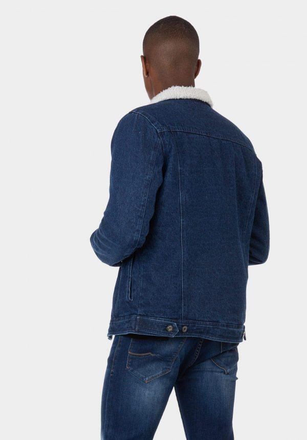 Blusão de ganga regular fit para homem da Tiffosi