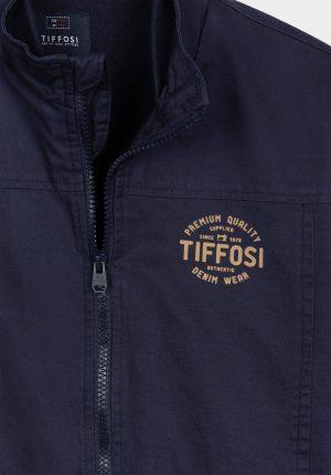 Casaco bomber azul para menino da Tiffosi