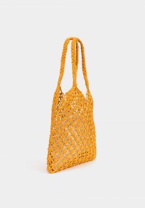 Bolsa com corda entrelaçada para mulher da Tiffosi